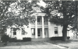 Orrin Walter built this house after 1836.