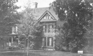 Built in 1880 for Amanda Moulthrop