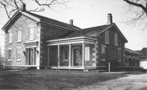 """Nathanial Ford built this house in 1841 know as """"Castleton"""""""