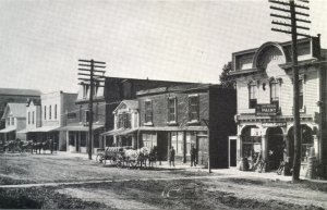 West side of North Main Street, looking south