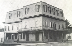 Built in 1874 after fire destroyed the original structure.  Currently the Stumblin' Inn.
