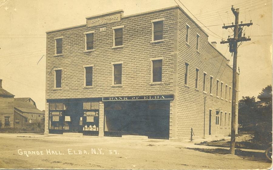 Elba Grange Hall